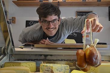 Paul mit Käse