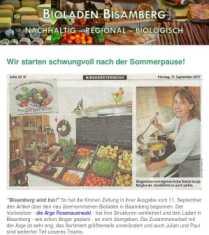 Newsletter September 2017 screenshot