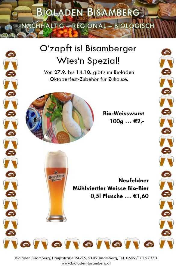 Oktoberfest - Wiesn Spezial Sept 2017